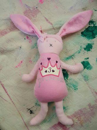 Allie's Little Bunny Comforter
