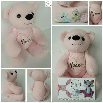 Miniature Signature Bear