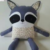 Patchwork Friend Raccoon