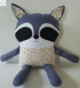 Patchwork Friend Raccoon